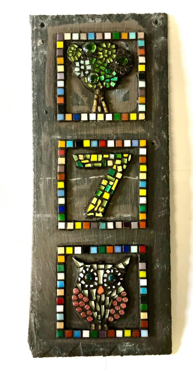 student mosaic creative with nature todmorden