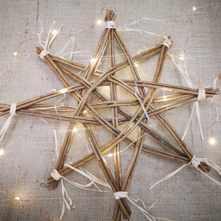 Swedish willow star creative with nature todmorden