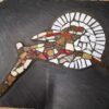leaping hare mosaic creative with nature todmorden