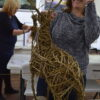 student and willow reindeer creative with nature todmorden