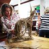 willow-hare-sculpture-course-student