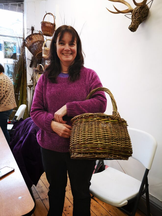 Oval-basket-2-day-weaving-course-student-work-creative-with-nature