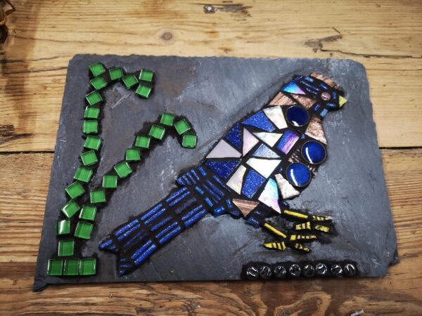 student-mosaic-work-creative-with-nature